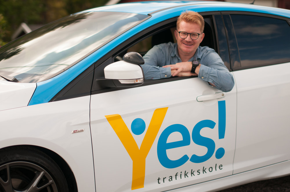 Knut Olav Hauken - daglig leder Yes! Trafikkskole